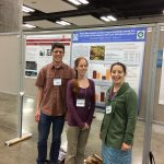 Eric, Amanda, and Colleen at the ASLO Aquatic Sciences Meeting in Honolulu