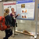 Amanda discusses her dissertation work at the ASLO Aquatic Sciences Meeting.