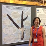 Our colleague, Sarah Gignoux-Wolfsohn explains white band disease at the Ocean Sciences Meeting in New Orleans